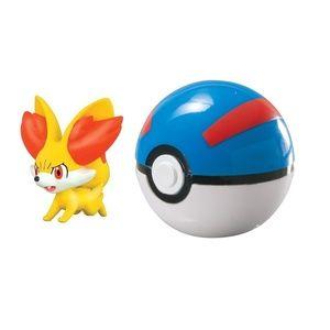 Pokemon Clip 'N' Carry Great Ball - Fennekin